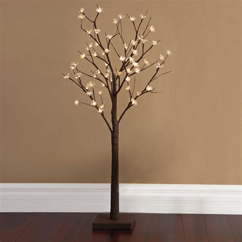 lighted tree branches tree branch light fixture home decor