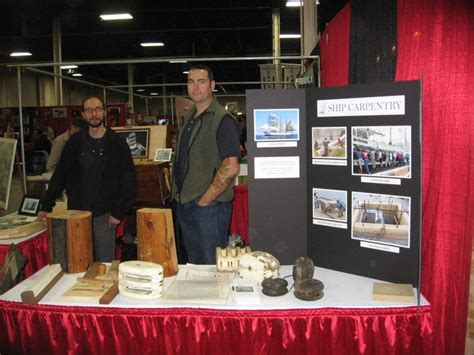 woodworking show nj representing the guild at the woodworking show