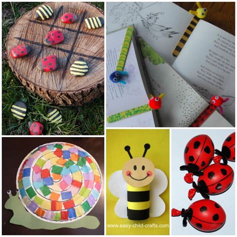 bug crafts for 20 adorable bug crafts activities and food ideas