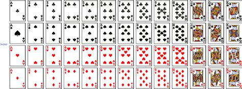 how to make deck of cards standard deck of 52 cards in curated data