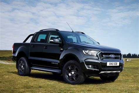 Ford Ranger Truck by Limited Ford Ranger Black Edition Up Truck Revealed