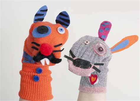 puppet crafts for s day sock puppet craft