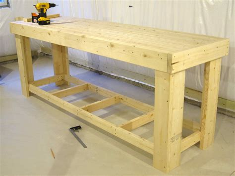 build woodworking workbench workbench 2x4 houses plans designs