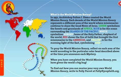 rosary information 17 best images about world mission rosary embrace the