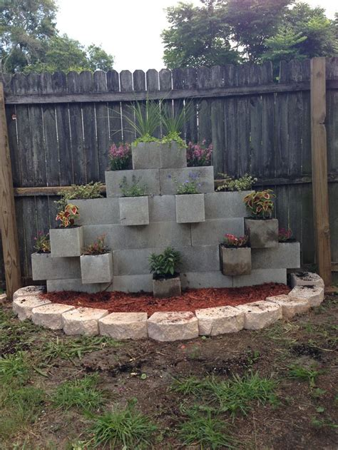cinder block garden wall cinder block garden wall our newest addition to the
