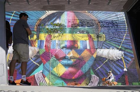 brazil painting show graffiti painting greets 2016 olympic in