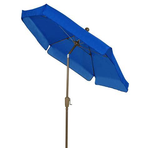 5 ft patio umbrella picnic time 5 5 ft patio umbrella in navy 822 00