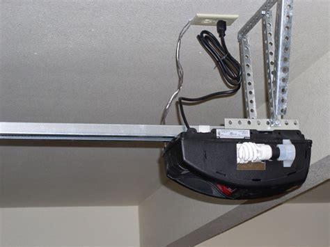 overhead door installation manual turn your manual overhead garage door into an electric