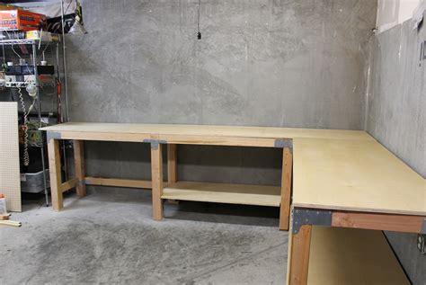 garage bench designs garage work bench plans home design ideas