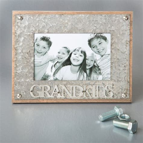 fashion craft grandkids metal picture frame walmart com