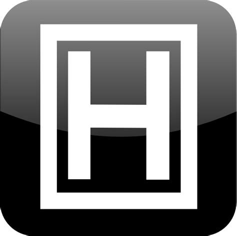 free h letter h clip free vector 4vector