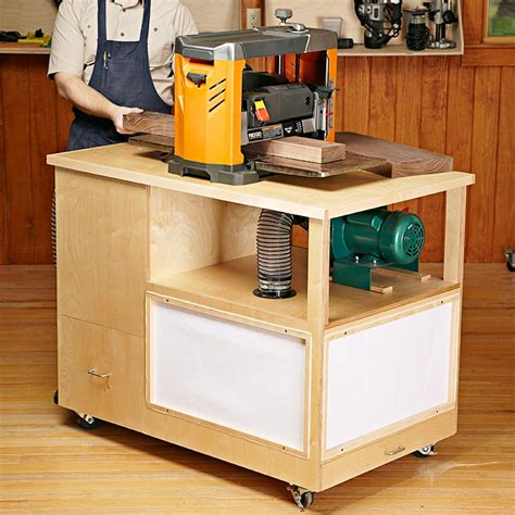 dust collection woodworking dust collecting tool stand woodworking plan from wood magazine
