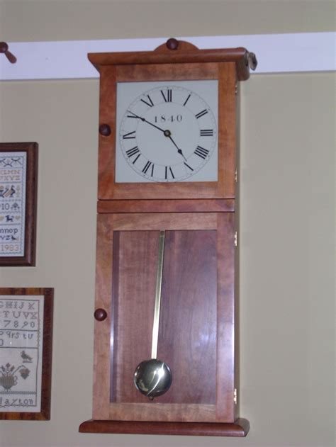 clocks for woodworking projects 17 best images about shaker wall clock on