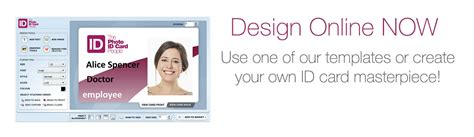 make your own id card free plastic id cards photo id card and badges