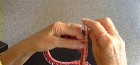 how to remove knitting from needles how to do a knitting bind cast on a circular