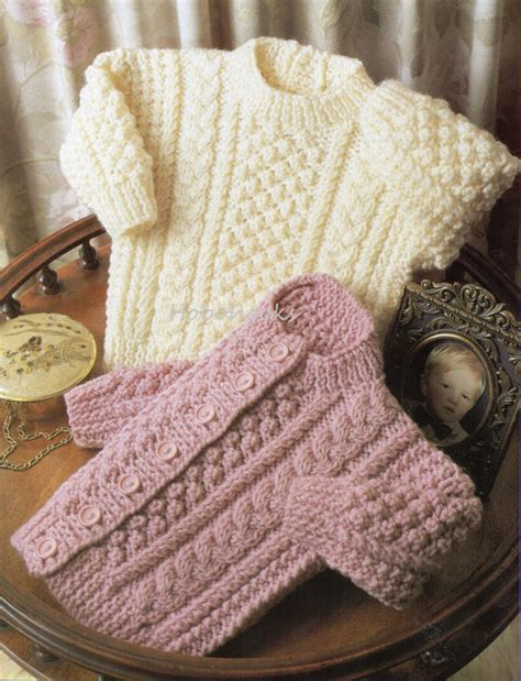 knitting patterns for aran sweaters baby knitting pattern baby aran sweater baby aran door
