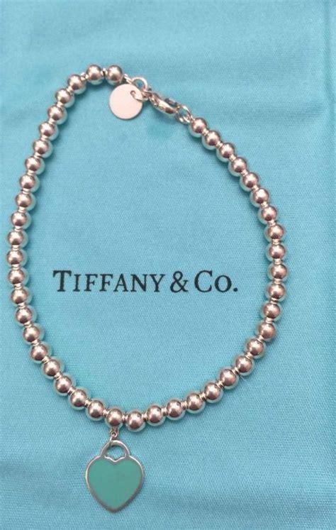 return to bead bracelet blue sterling return to blue enamel tag