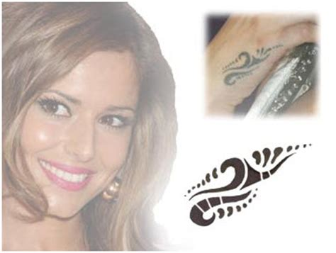 cheryl cole tribal cole tattooforaweek com temporary