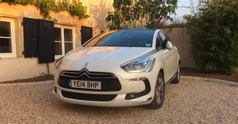 Citroen Ds5 Review by Citro 235 N Ds5 Review