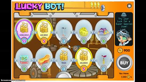 where to free fantage lucky bots prize