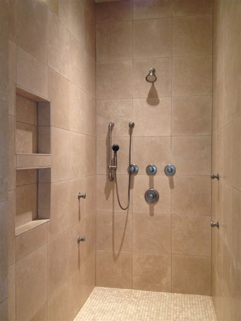 bathroom shower remodeling pictures travertine walk in shower bathroom remodel in west lake