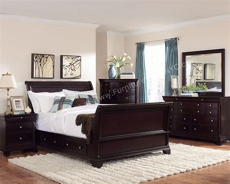 cherry bedroom furniture set inglewood bedroom set in cherry wood finish by homelegance