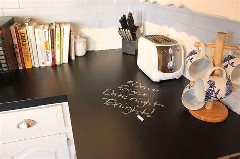 diy chalk paint countertops chalkboard countertops hometalk