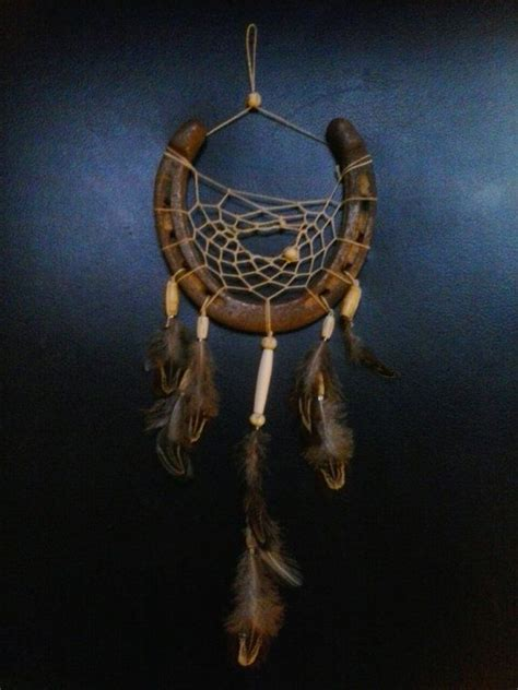 horse shoe dream catcher by beadedwonderzz on etsy 15 00