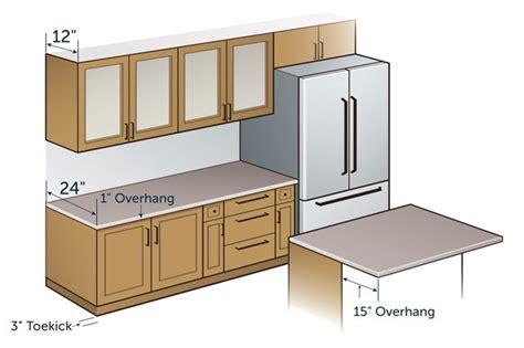 standard depth of kitchen cabinets standard kitchen counter depth hunker