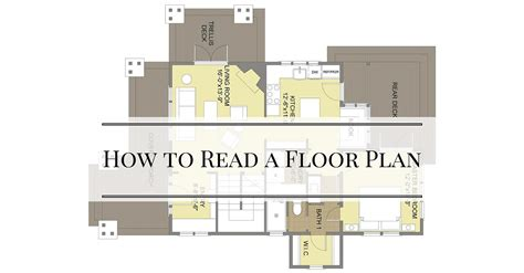 a floor plan how to read a floor plan bungalow company