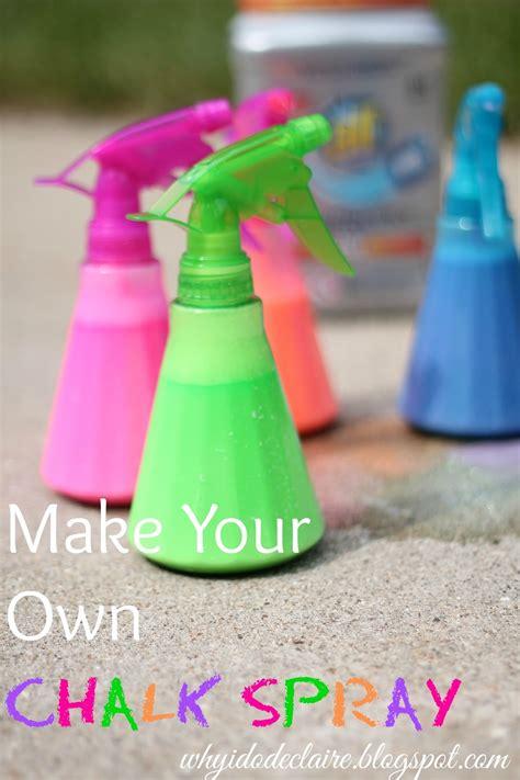 diy chalk paint in a sprayer i do declaire make your own chalk spray