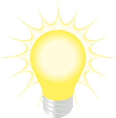 light clip free glowing lightbulb clip