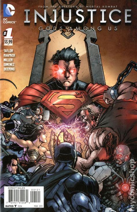 injustice 2 vol 1 injustice gods among us 2012 dc comic books