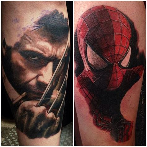 marvel tattoos for men ideas and inspiration for guys