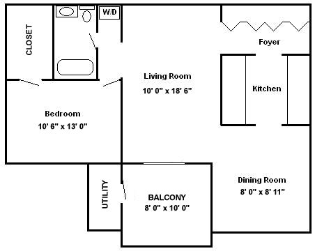 750 sq ft apartment floor plan floor plans ashlea gardens apartments in new pa