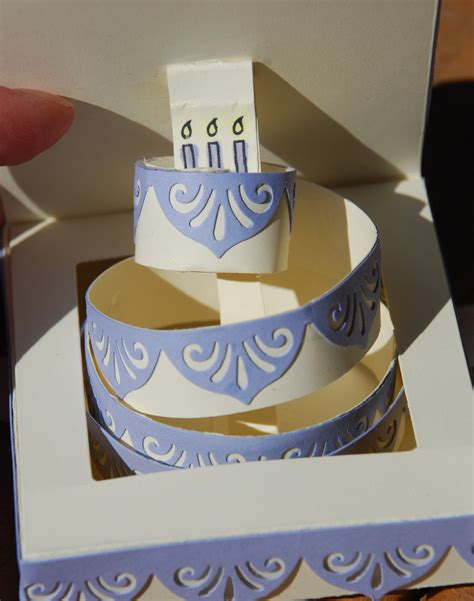 how to make birthday cake pop up card scrap scha4 birthday cake pop up card