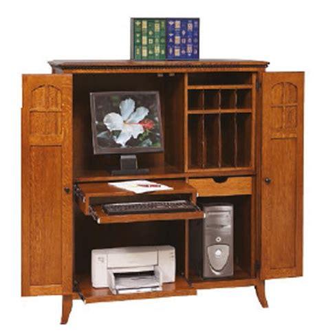 amish computer armoire amish mt eaton computer armoire desk