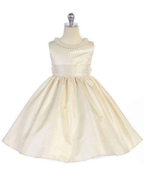 ivory beaded dress ivory beaded neckline fit flare dress