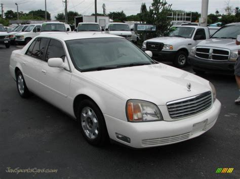 2000 Cadillac Sedan by 2000 Cadillac Sedan In Cotillion White 238556