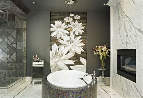 Spa Artwork For Bathrooms by Comic Wall Bathroom Ideas For Modern Decor Decolover Net