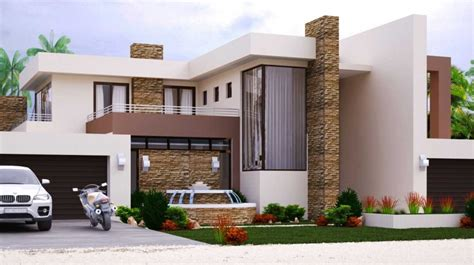 modern style house plans home design with 4 bedrooms modern style