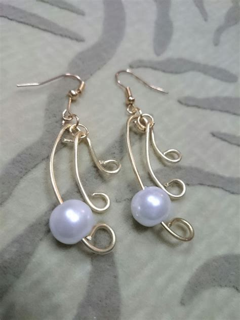 how to make wire jewelry pendants how to make wire jewelry ideas pearl simplicity earrings
