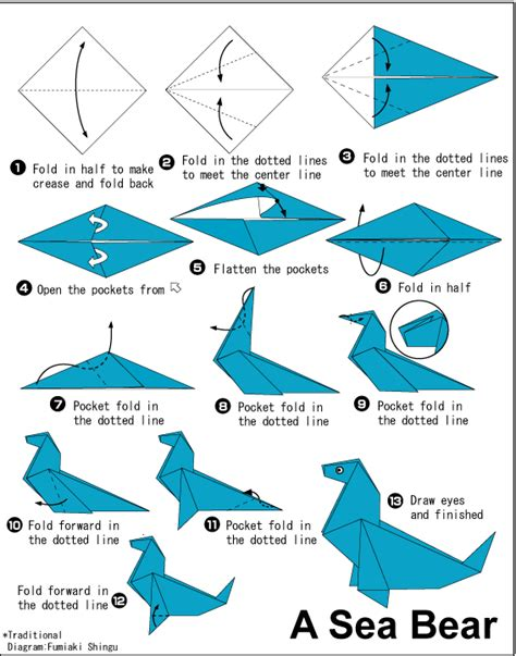 origami sea animals origami for make easy origami