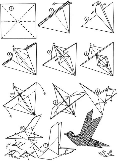 how to fold a origami bird 1000 images about origami birds on