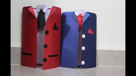how to make a suit card diy suit tuxedo greeting card tutorial how to make