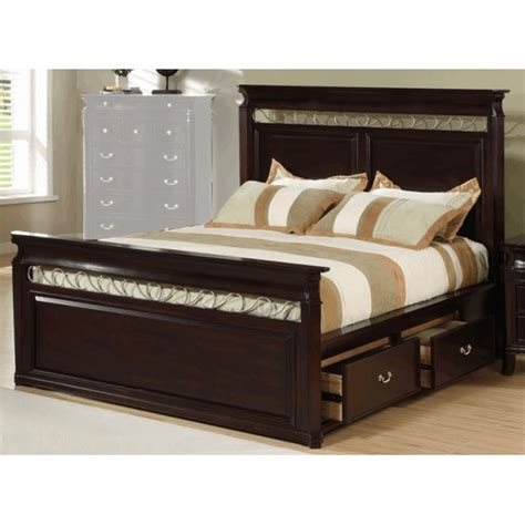 bed frames for king size create a storage bedroom with king size bed frame with