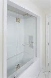 Bathroom Shower Stall Tile Designs marble tub alcove transitional bathroom