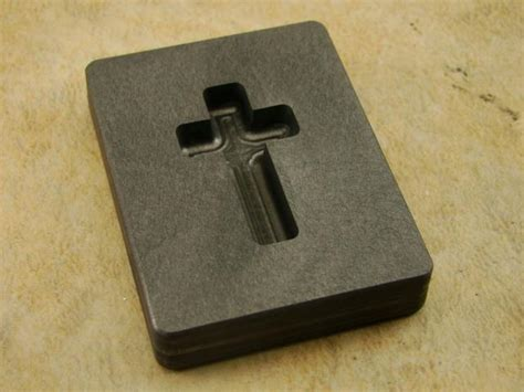 how to make a jewelry mold for silver 1 oz custom cross gold high density graphite mold silver