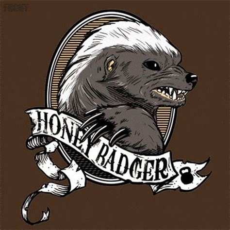 honey badger attitude to spare happy bunny grumpy cat