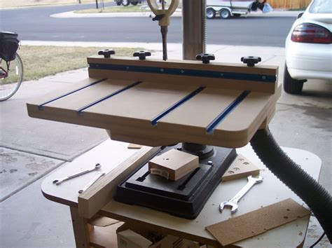 r r woodworking pdf diy shopnotes drill press table plans simple